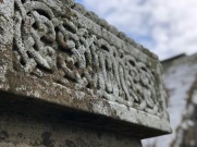 Detail of an Irish grave in the Rock of Cashel, Co. Tipperary