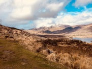 The valley of the Healy Pass, on the Beara Peninsula, Co. Kerry